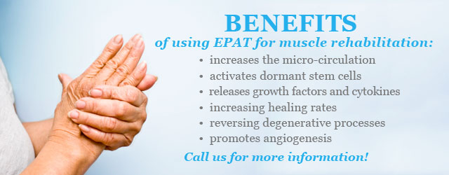 EPAT for Muscle Rehabilitation - Spring of Youth Medical Group